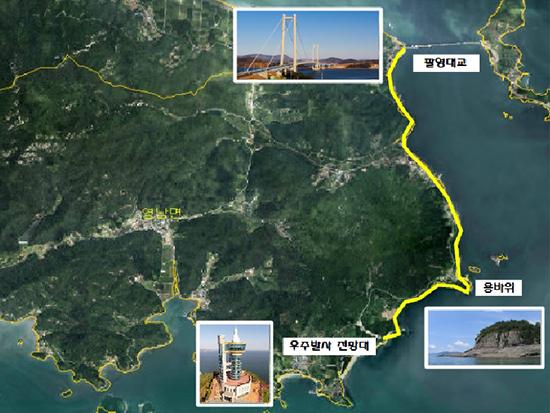 고흥군, 전라남도 남도명품길 공모사업 최종선정!